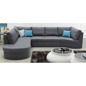 Ecksofa Limone mit Bettfunktion von Home Loft Co..