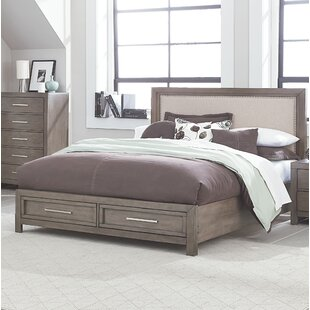 Lipscomb Upholstered Storage Panel Bed