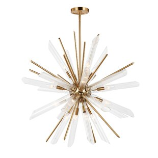 Mercer41 Atkins 16-Light Sputnik Chandelier