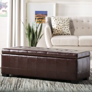 Manhattan Upholstered Storage Bench by Safavieh