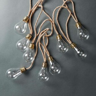10 Translucent String Lights By Butlers