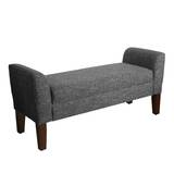Michigan Upholstered Storage Bench by Three Posts