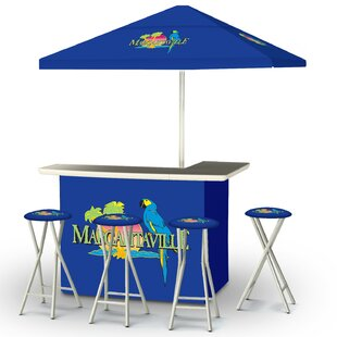 Margaritaville 8 Piece Bar Set
