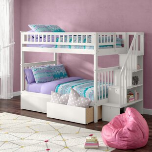 Shyann Full Over Full Bunk Bed with Storage