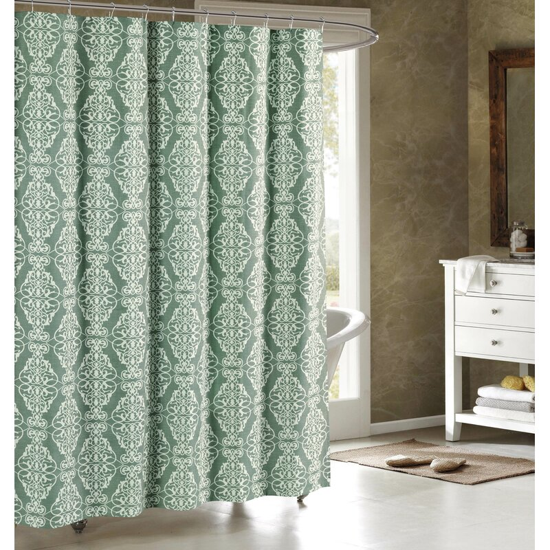 Mcgrane Printed Single Shower Curtain Reviews Birch Lane