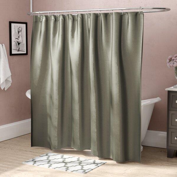 House Of Hampton Highgate Faux Silk Shower Curtain Reviews