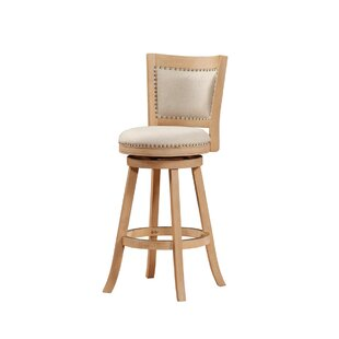 Guilford 29 Swivel Bar Stool Greyleigh