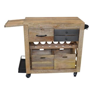 Antora Beverage Service Bar Cart by Foundry Select