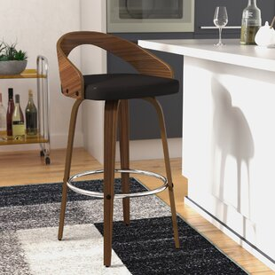 Wright Bar & Counter Swivel Bar Stool by Langley Street