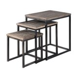 Allan 3 Piece Nesting Tables by Gracie Oaks