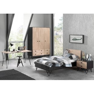 William 4 Piece Bedroom Set by Vipack
