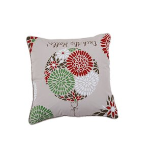 Deck the Halls Holiday Pillow Protector by Affluence Home Fashions