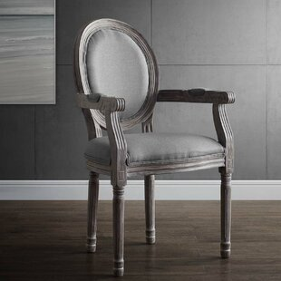 Vicente Vintage French Upholstered Dining Chair by Ophelia & Co. Savings