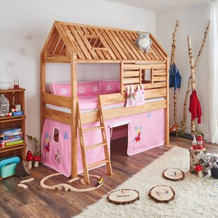 Kylie European Single Loft Bed By Zoomie Kids