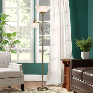 Winston Porter Coldspring 71 Torchiere Floor Lamp Wonderful