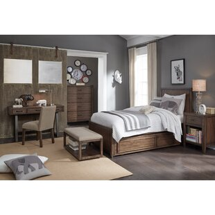 Gracie Oaks Maven Complete Panel Configurable Bedroom Set