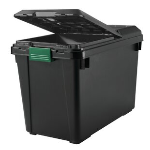 Best Choices Heavy Duty Store-It All 102 qt Plastic Storage Tote (Set of 4) By Remington