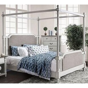 Mccraw Upholstered Canopy Bed