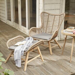 Rawshawn Garden Chair With Cushion By Sol 72 Outdoor