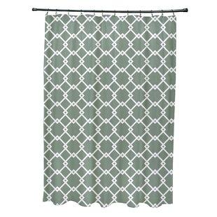 Pandro Geometric Single Shower Curtain