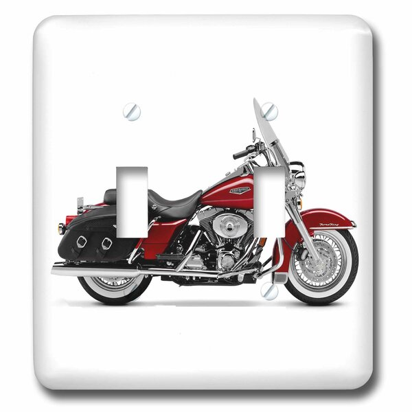3drose Picturing Harley Davidsonâ Motorcycle 2 Gang Toggle Light Switch Wall Plate Wayfair