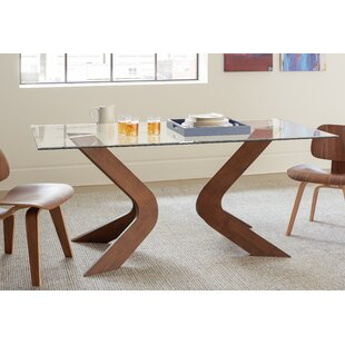 Modern kitchen dining tables allmodern lansford dining table workwithnaturefo