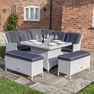 Bolinas 8 Seater Corner Sofa Set By Sol 72 Outdoor