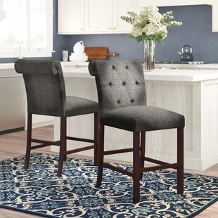 Atherton 24 Bar Stool (Set of 2) Charlton Home
