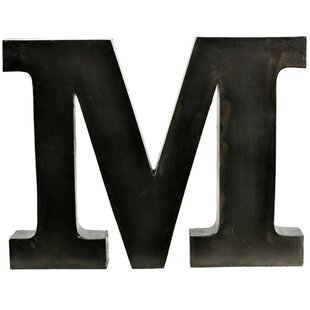 Large Metal Letter M Large Metal Letter M Cool The Vintage Wall™ Extralarge Metal