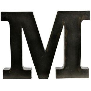 Large Metal Letter M Large Metal Letter M Cool The Vintage Wall™ Extralarge Metal