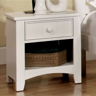 Reaves Wood 1 Drawer Nightstand