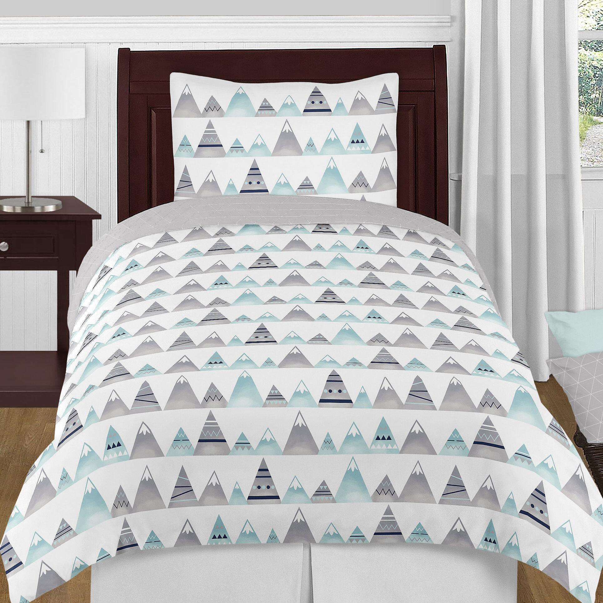 Sweet Jojo Designs Mountains Reversible Comforter Set Reviews Wayfair