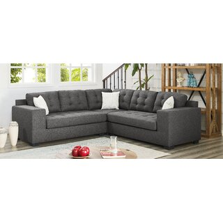 Whitnash Symmetrical Sectional by Ebern Designs SKU:AD814386 Guide