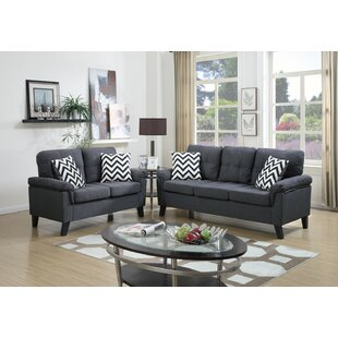 2 Piece Living Room Set by Infini Furnishings
