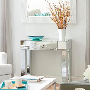 Willa Arlo Interiors Jessa Mirrored Console Table