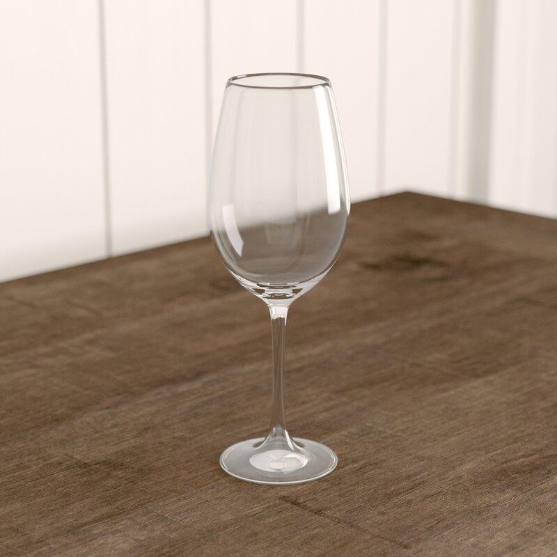 Greyleigh Nome 12 Oz Crystal White Wine Glass Reviews Wayfair