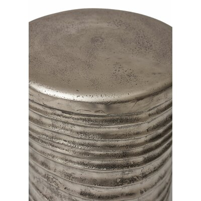 Kutcher Accent Stool Color: Silver by Mercury Row