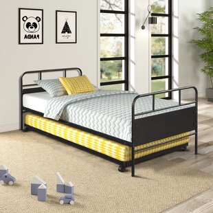 Galveston Twin Platform Bed with Trundle