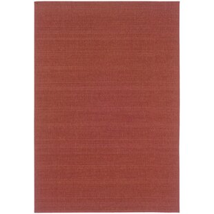 Cathie Red Indoor/Outdoor Area Rug