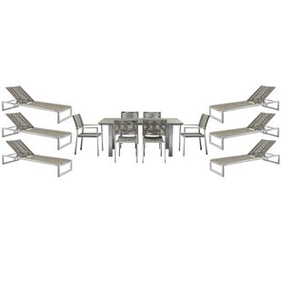 Chandra 13 Piece Complete Patio Set