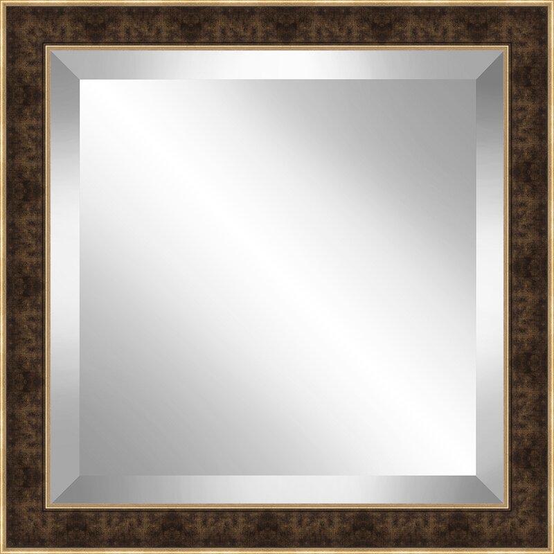 Red Barrel Studio 2 Frame Square Beveled Plate Accent Mirror Wayfair
