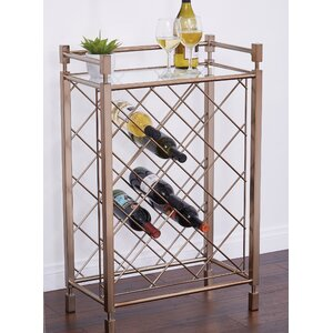 Cotgrave 17 Bottle Floor Wine Bottle Rack