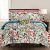 Jamilee 8 Piece Reversible Comforter Set