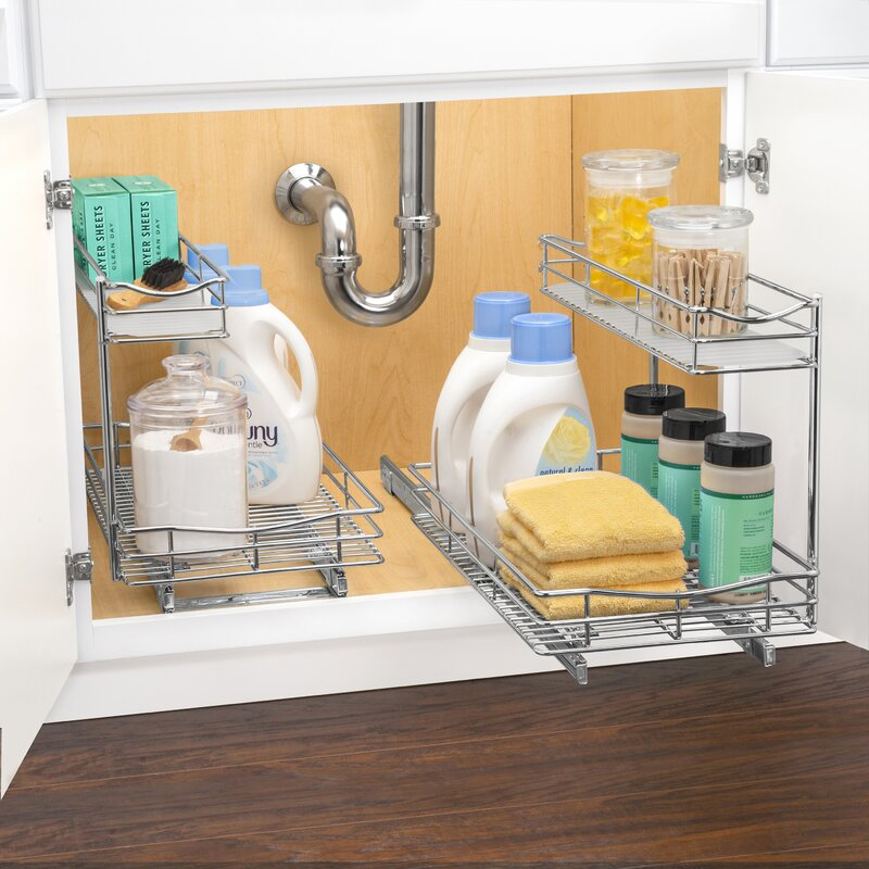 Lynk Professional® Slide Out Under Sink 11.5 x 18 Pull Out Drawer