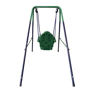 0f1ac1d713 Toddler Baby Swing Portable Indoor Outdoor Folding Safety Chair Playground