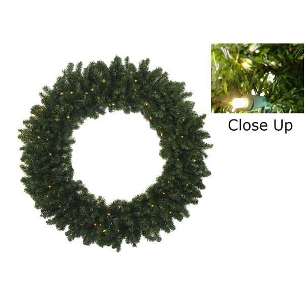 Pre-Lit Battery Operated Canadian Pine Artificial Christmas Garland