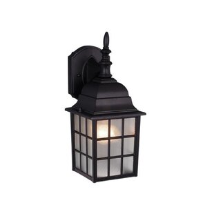 Comparison Faning 1-Light Outdoor Wall Lantern By Charlton Home