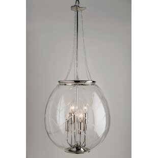 Bungalow Rose Elysee 6-Light Urn Pendant
