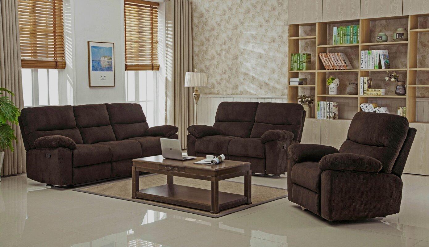 Berthold Reclining Living Room Set