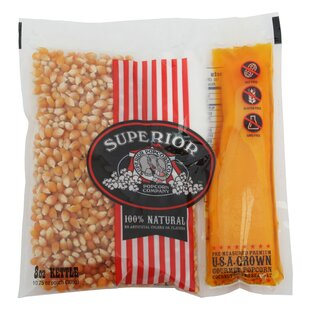 Organic Theater Popcorn, 8 oz. (Set of 24) by Superior Popcorn Company
